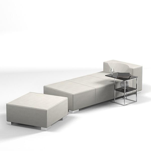 cts chaise lounge 3d model  sc 1 st  TurboSquid : chaise lounge bench - Sectionals, Sofas & Couches